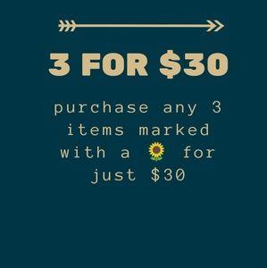 🌻🌻🌻 Sale!  3🌻/$30